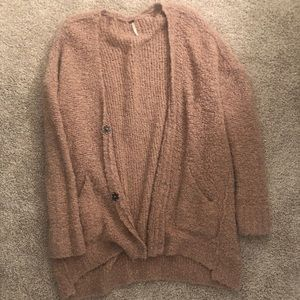 Free people oversized cardigan sweater